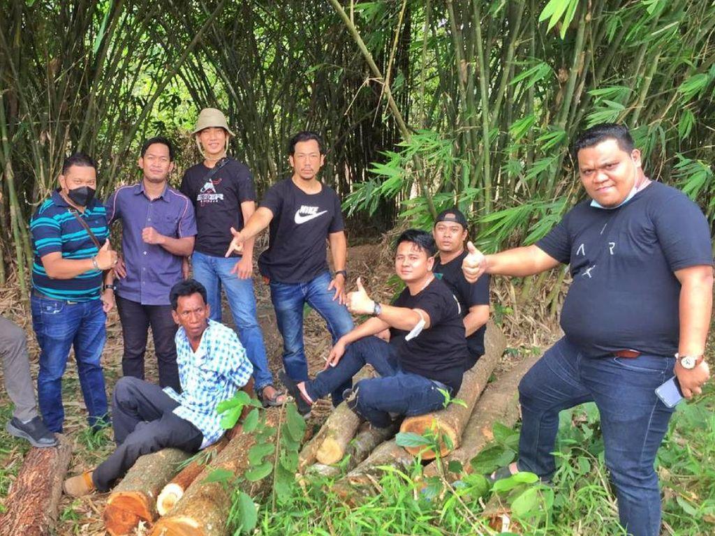 Curi Pohon Jati Bernilai Rp 300 Juta, Pria di Sumsel Ditangkap