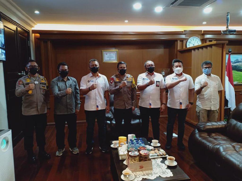 Bahas Piala Menpora 2021, PT LIB Sambangi Polda Jawa Barat