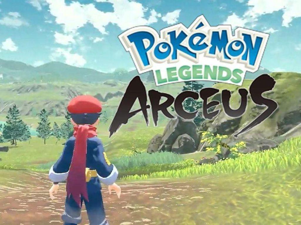 Pokemon Legends: Arceus Siap Rilis 2022, Punya Apa?
