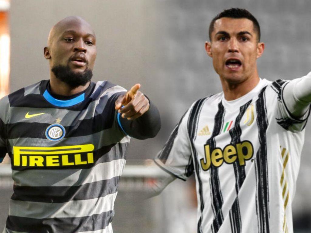 Ronaldo Ukir Rekor, Lukaku Jadi Pemain Terbaik Serie A Februari 2021