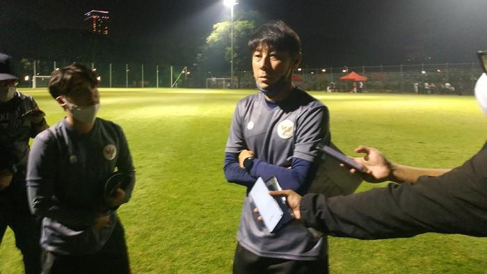 Pelatih timnas Indonesia Shin Taeyong