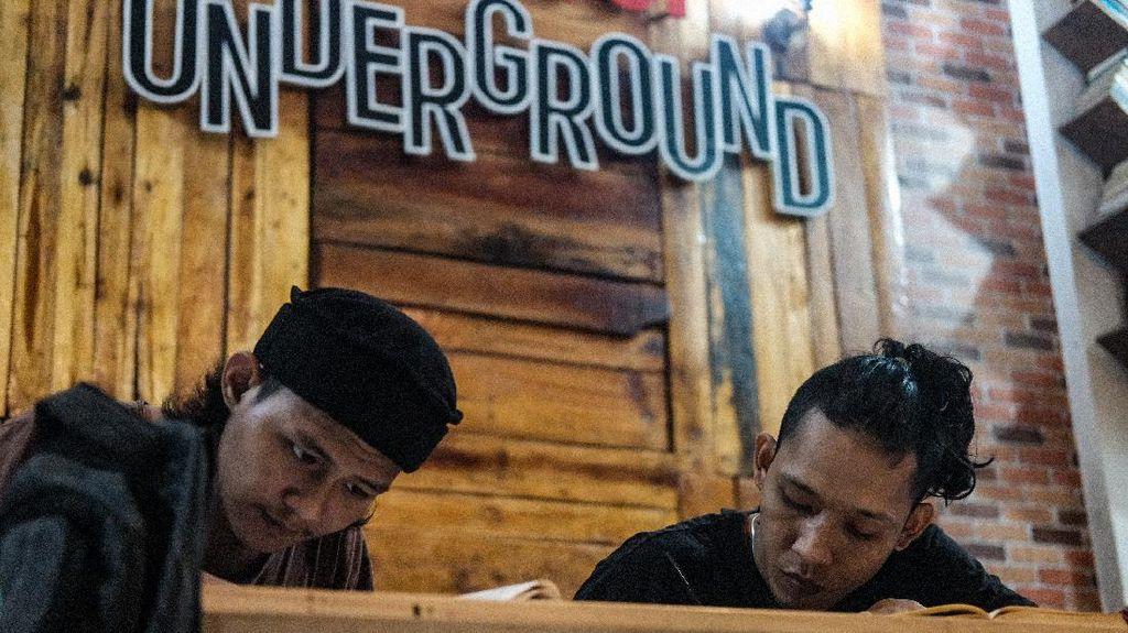 Tak Hanya Mengaji, Anak Punk di Tasawuf Underground Juga Dilatih Bekerja