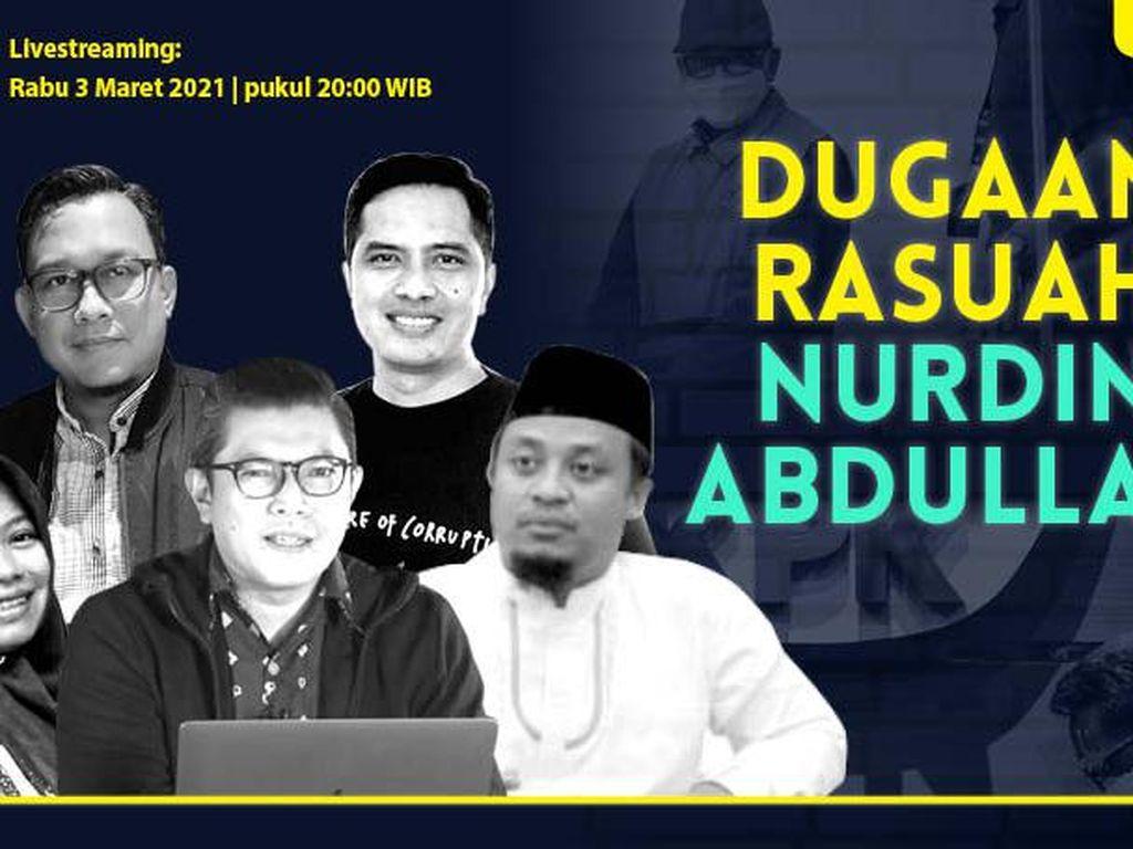 dRooftalk: Dugaan Rasuah Nurdin Abdullah