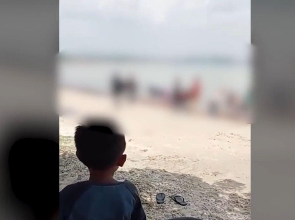 Geger Mahasiswa Dipelonco di Pantai Nambo, Polisi Pun Klarifikasi UHO