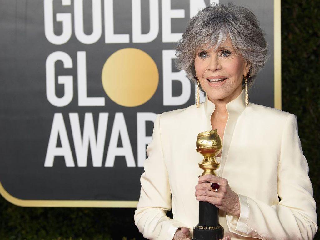 Profil Jane Fonda yang Terima Piala Kehormatan Golden Globe