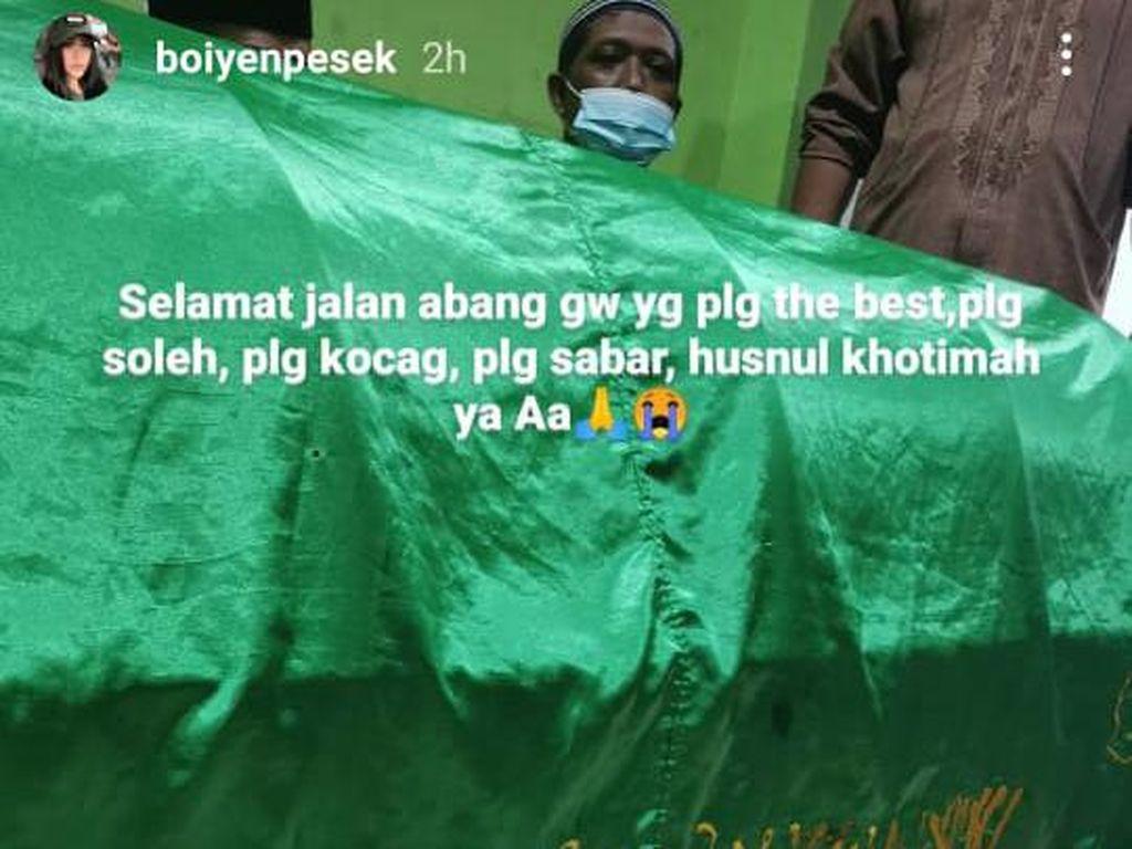 Kronologi Kakak Boiyen Meninggal karena Tertabrak Kereta