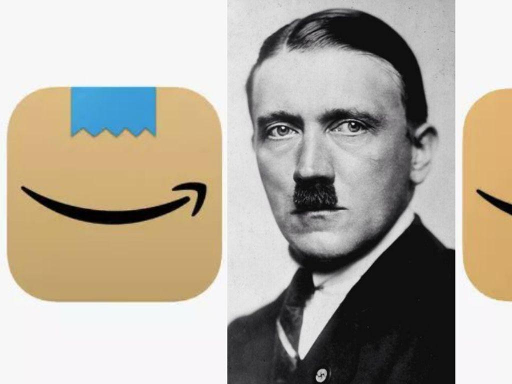 Dianggap Mirip Hitler, Amazon Ubah Logo Kumis Sikat Gigi pada Aplikasinya