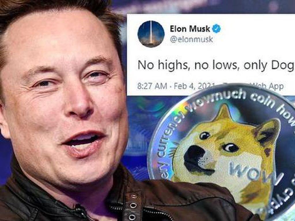 Misi Elon Musk Bawa Dogecoin ke Bulan