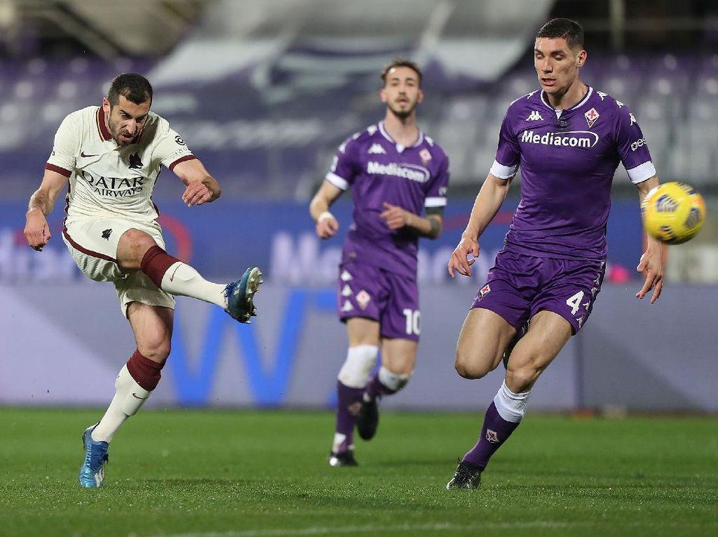 Fiorentina Vs Roma: Giallorossi Menang 2-1