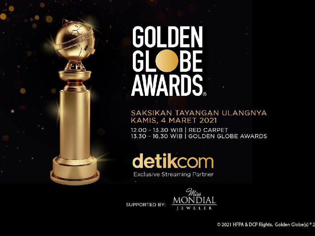 Nonton Streaming Golden Globe 2021 Eksklusif Detikcom!