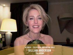 Gillian Anderson Raih Golden Globe Jadi Wanita Besi Margaret Thatcher