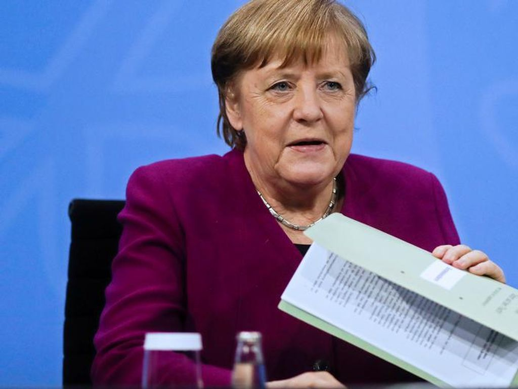 Jerman Perpanjang Lockdown Hingga 28 Maret Tapi Longgarkan Pembatasan