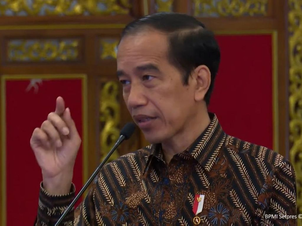 Heboh Seruan Benci Produk Asing dari Jokowi