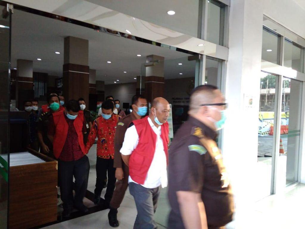 Kejatisu Tahan 3 Tersangka Kasus Korupsi Proyek Jalan Rp 1 Miliar