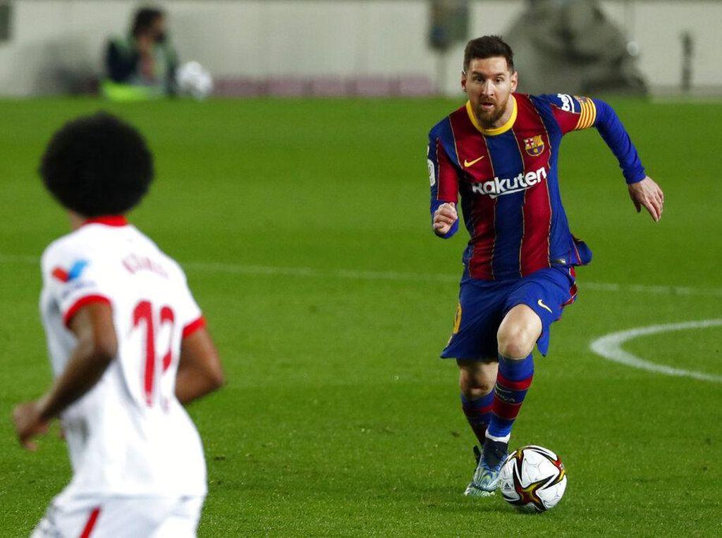 Messi dan Segudang Rekornya di Barcelona