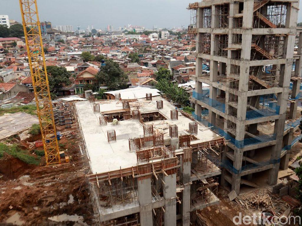 1 KK Bertahan, Pembangunan Rumah Deret Taman Sari Terhambat