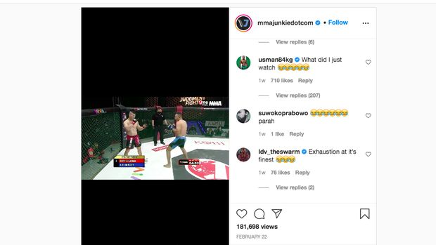Kamaru Usman komentari duel petarung MMA Indonesia.