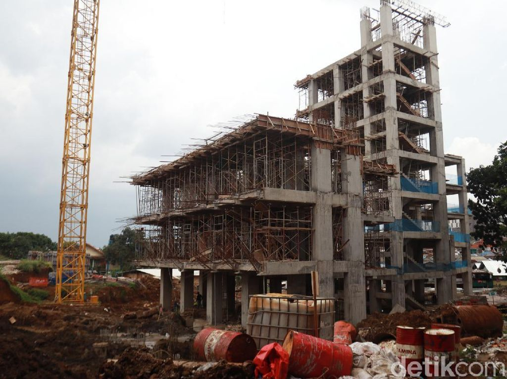 Intip Pembangunan Rumah Deret Tamansari Bandung