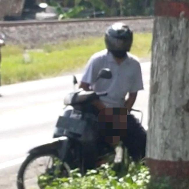Beredar Video Pria Onani di Pinggir Jalan Raya Blitar