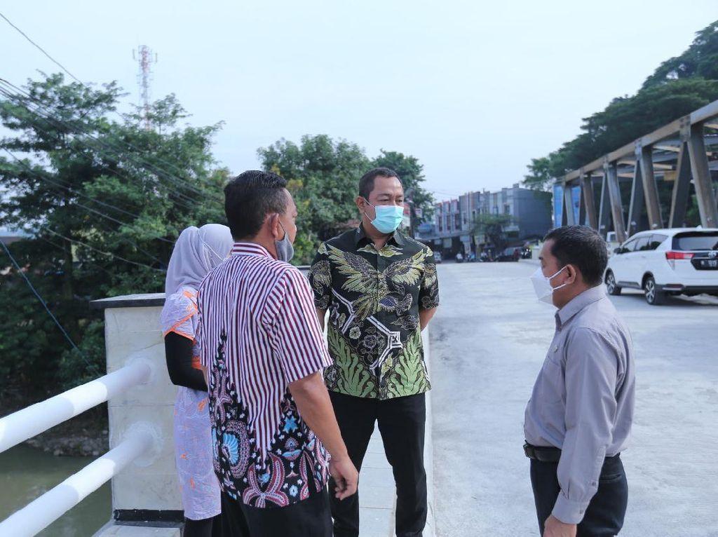 Walkot Semarang Minta Jembatan Besi Sampangan Segera Difungsikan