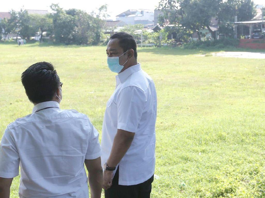 Lewat Lapangan Olahraga, Walkot Semarang Optimalkan Resapan Air