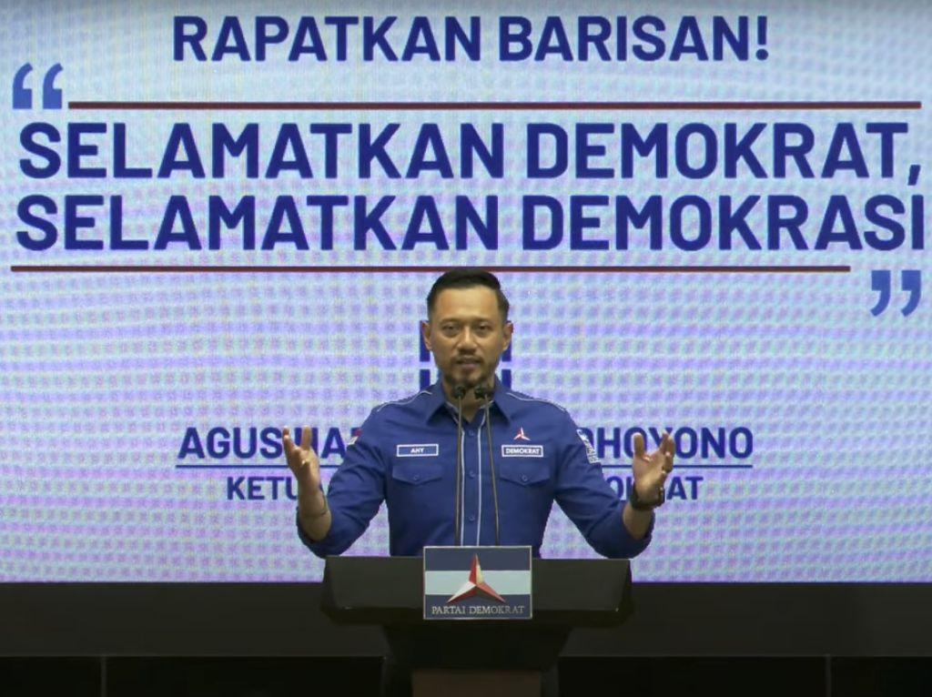 AHY Minta Jokowi-Yasonna Tak Sahkan KLB Demokrat Sumut