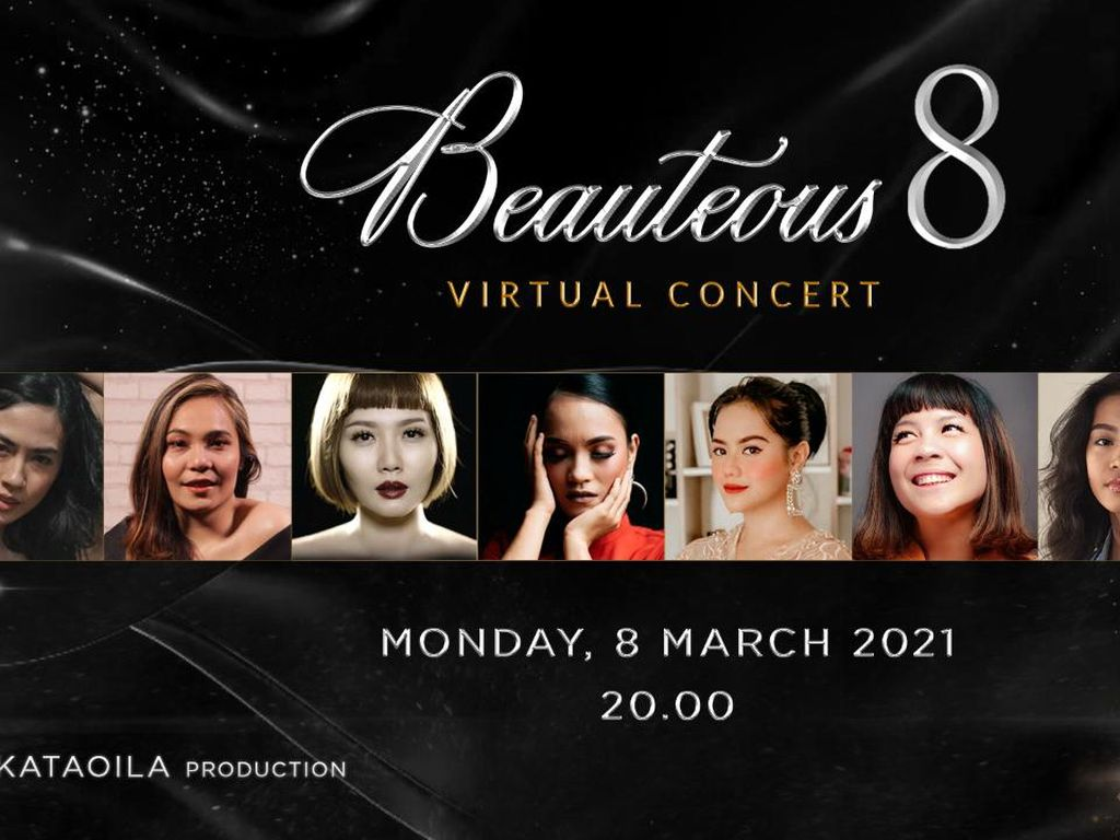 8 Penyanyi Wanita Bakal Meriahkan Konser untuk Hari Perempuan Sedunia