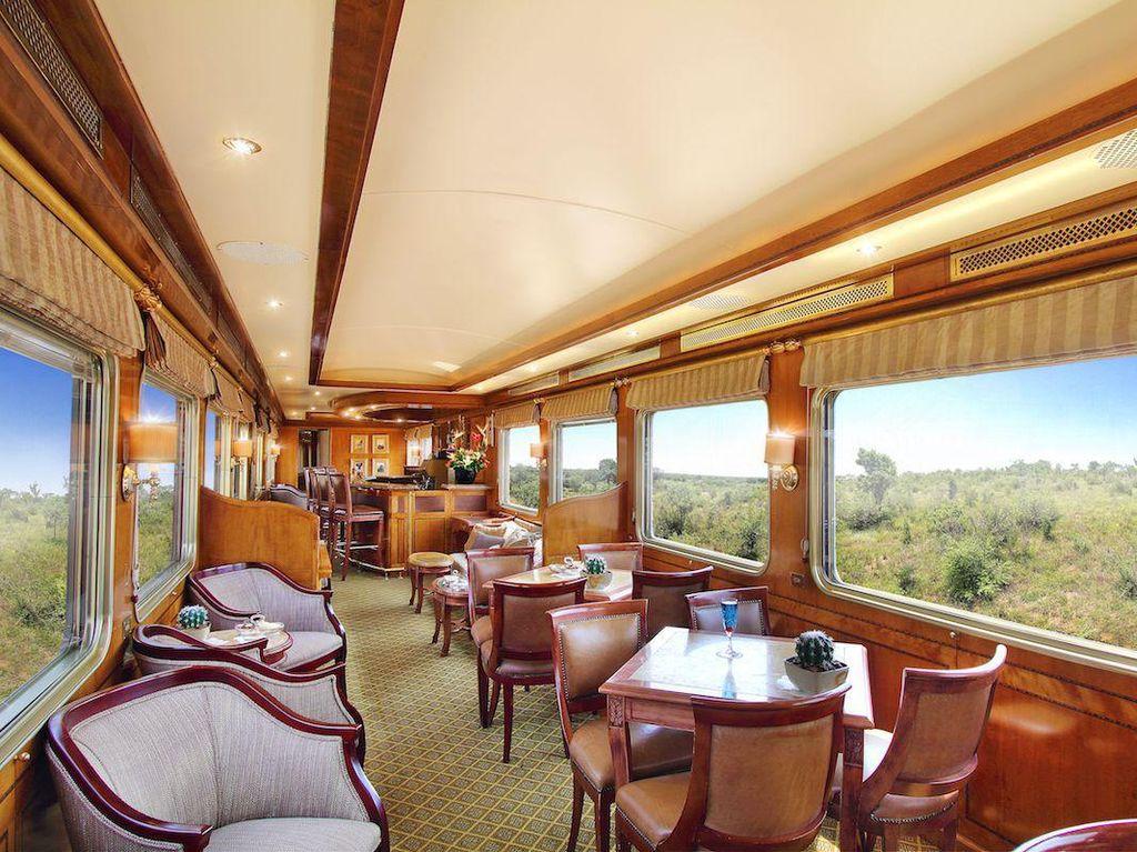 Foto: Intip Mewahnya Blue Train, Kereta Api Megah di Afrika Selatan