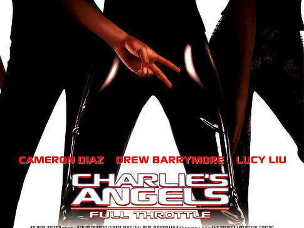 Sinopsis Charlies Angels: Full Throttle, Dibintangi Cameron Diaz dan Lucy Liu