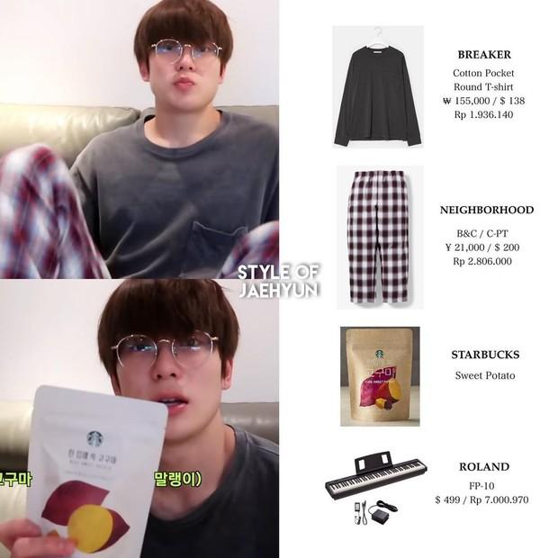 Harga outfit Jaehyun NCT