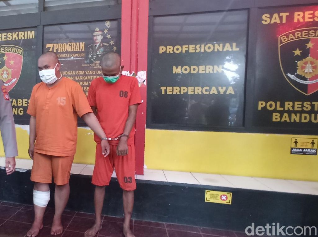 Pelaku Jambret Seret Korban di Bandung Dibekuk Polisi