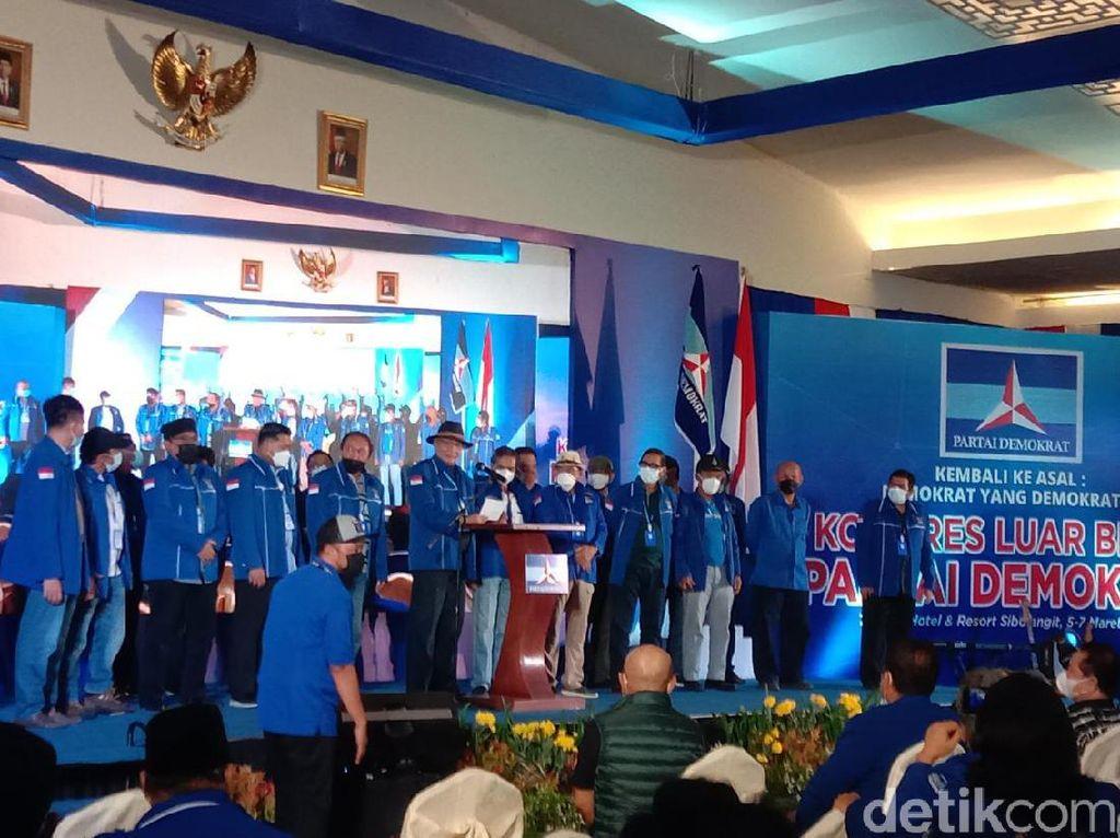 Demokrat Banten Ancam Polisikan 3 Orang Ngaku Kader Ikut KLB