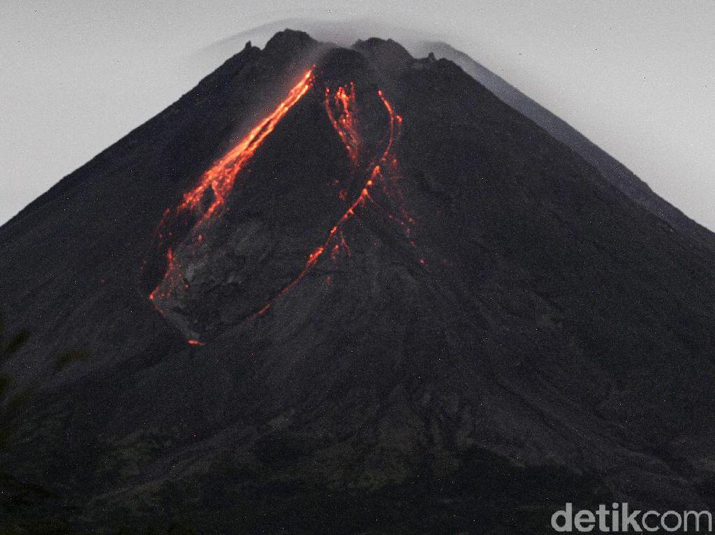 Gunung Merapi Erupsi Siang Ini, Luncuran Awan Panas Capai 1,3 Km