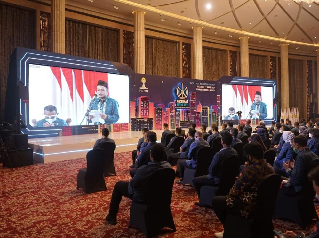 Dibuka Jokowi, Raker Pengusaha Muda Bahas Resep Pulihkan Ekonomi