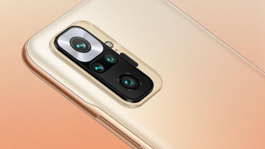 Wujud Redmi Note 10 Pro, Bawa Kamera 108 MP Harga Rp 3 Jutaan