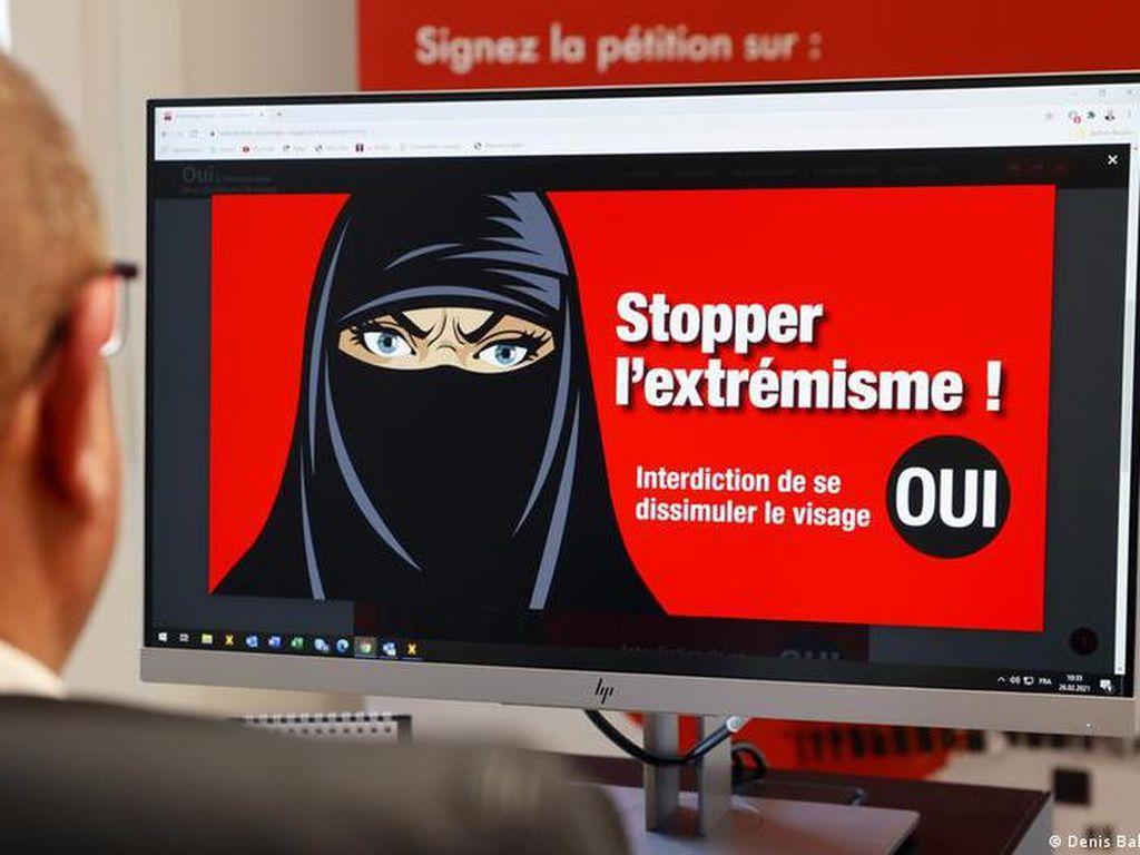 Referendum Swiss, Pemilih Setuju soal Larangan Penggunaan Cadar