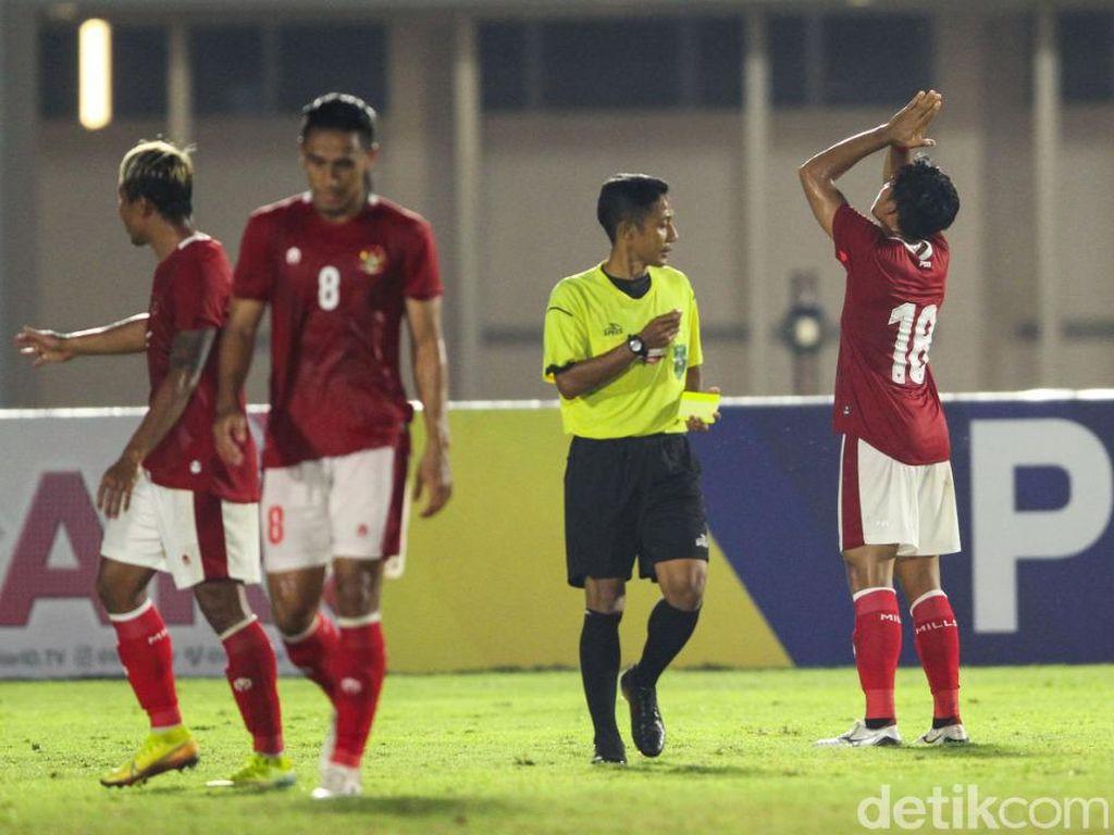 Hasil Uji Coba Indonesia Vs Afghanistan: Skuad Garuda Kalah 2-3
