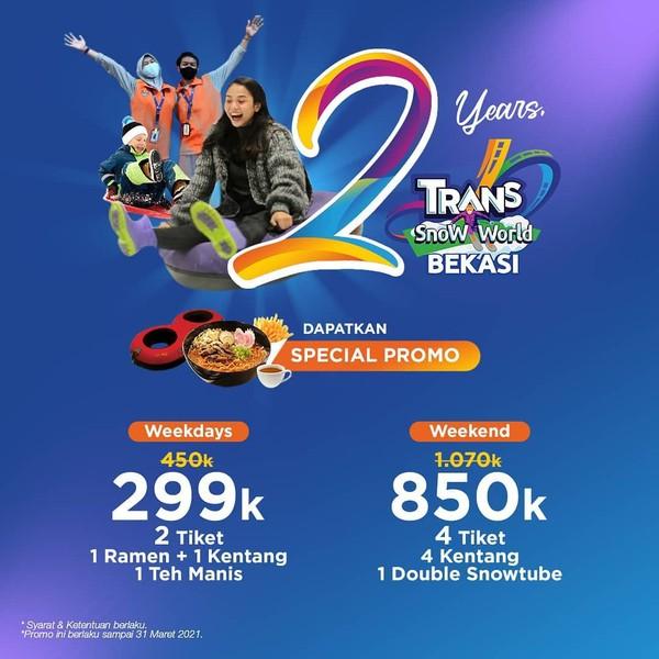 promo Trans Studio Mall Juanda Bekasi