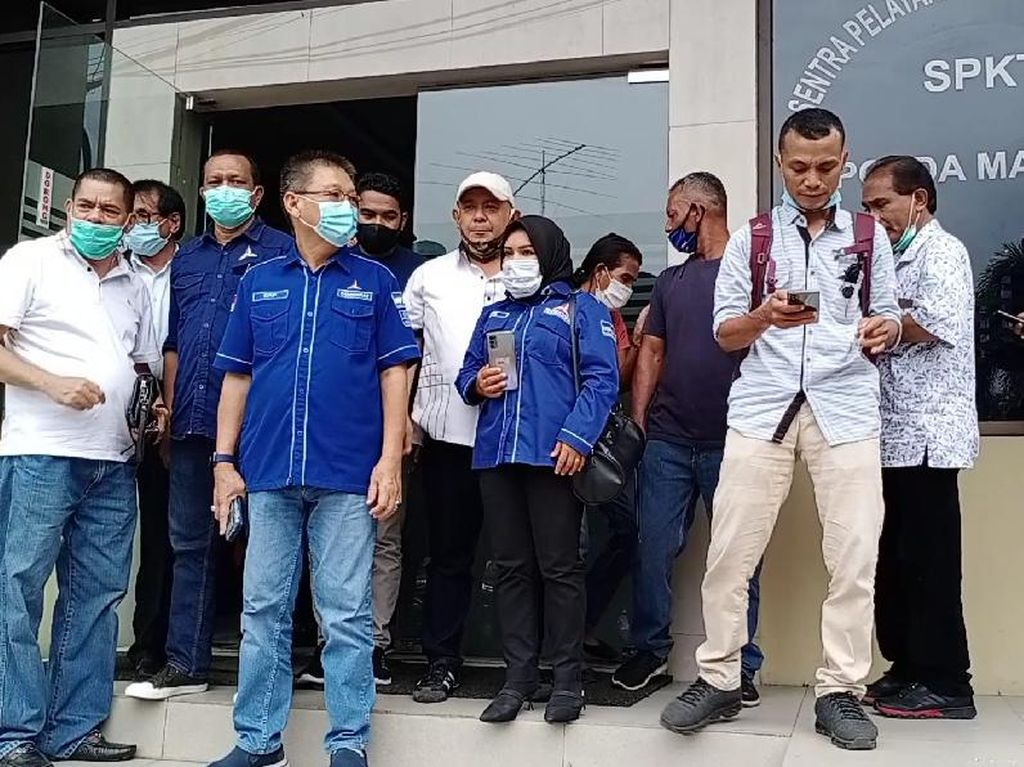 DPD Partai Demokrat Maluku Polisikan 11 Orang yang Hadiri KLB di Sumut