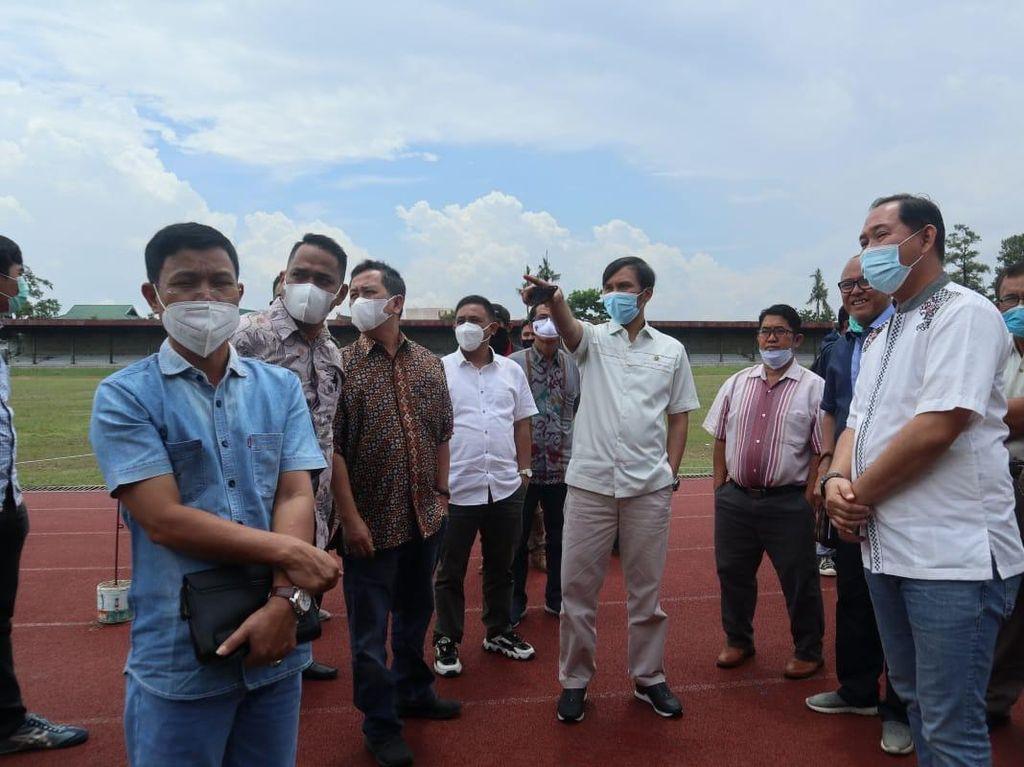 Temui Pengurus KONI, Ketua DPRD Jambi Bahas PON hingga Porprov