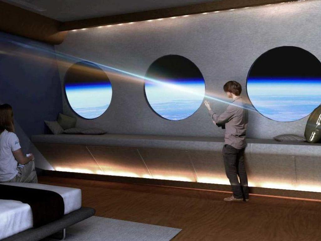 Wow! Hotel Luar Angkasa Bakal Dibuka di 2027