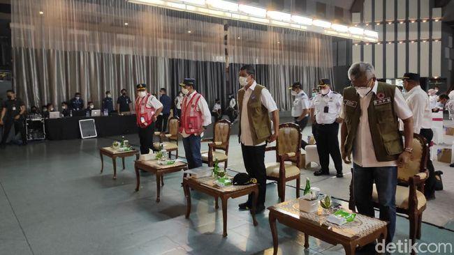 Menhub-Kepala BNPB Kunjungi PPI Curug Tinjau Persiapan KBM Tatap Muka Taruna