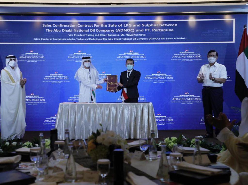 Kerja Sama dengan Arab, Pertamina Pastikan Keamanan Pasokan LPG Nasional
