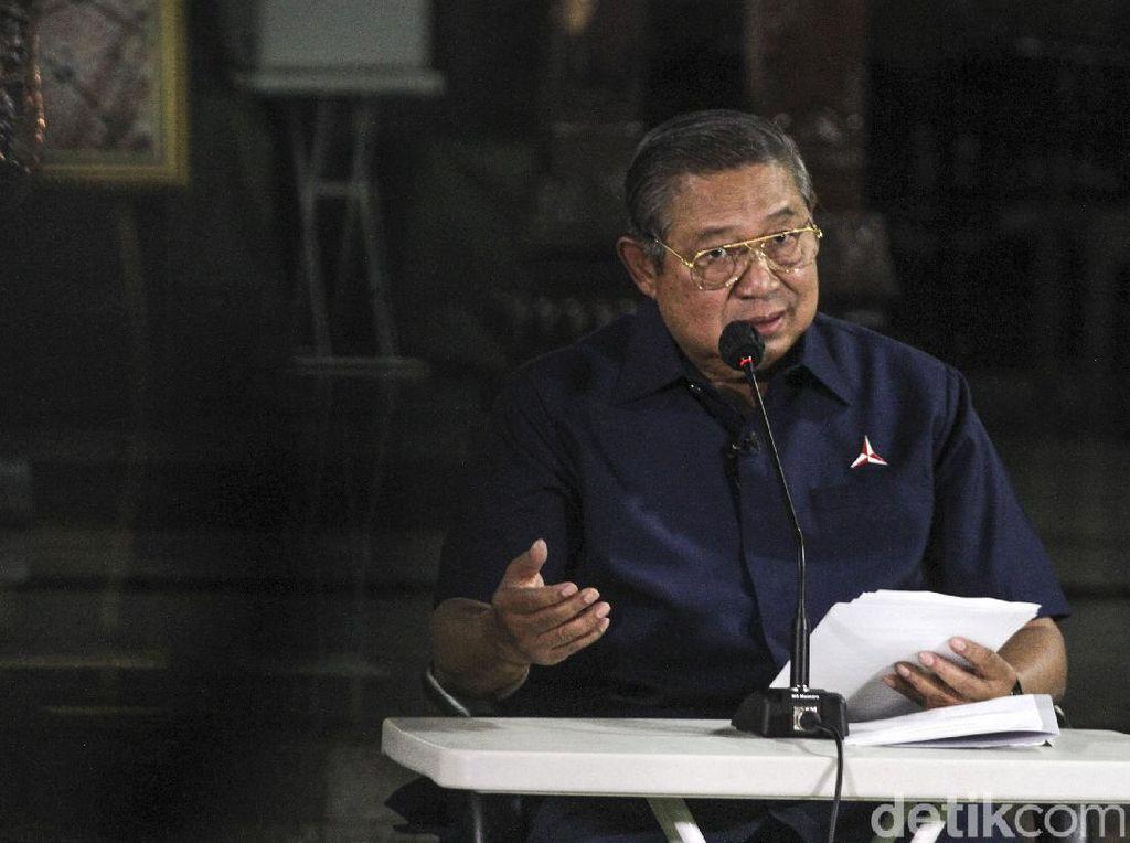 SBY Cabut Pendaftaran Merek Partai Demokrat atas Nama Pribadi!