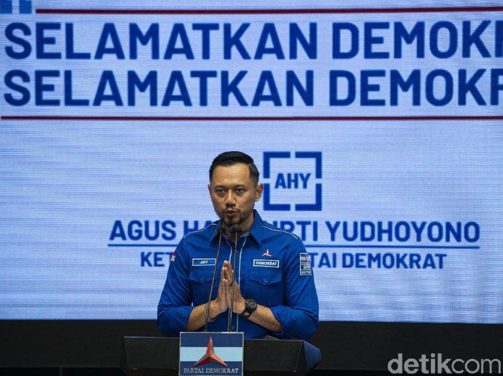 AHY Pimpin Rapat Konsolidasi DPD-DPC Se-RI Sikapi KLB Demokrat Hari Ini