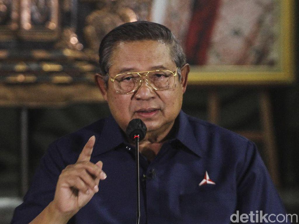 Momen SBY-AHY Tanggapi KLB yang Tetapkan Moeldoko Sebagai Ketum PD