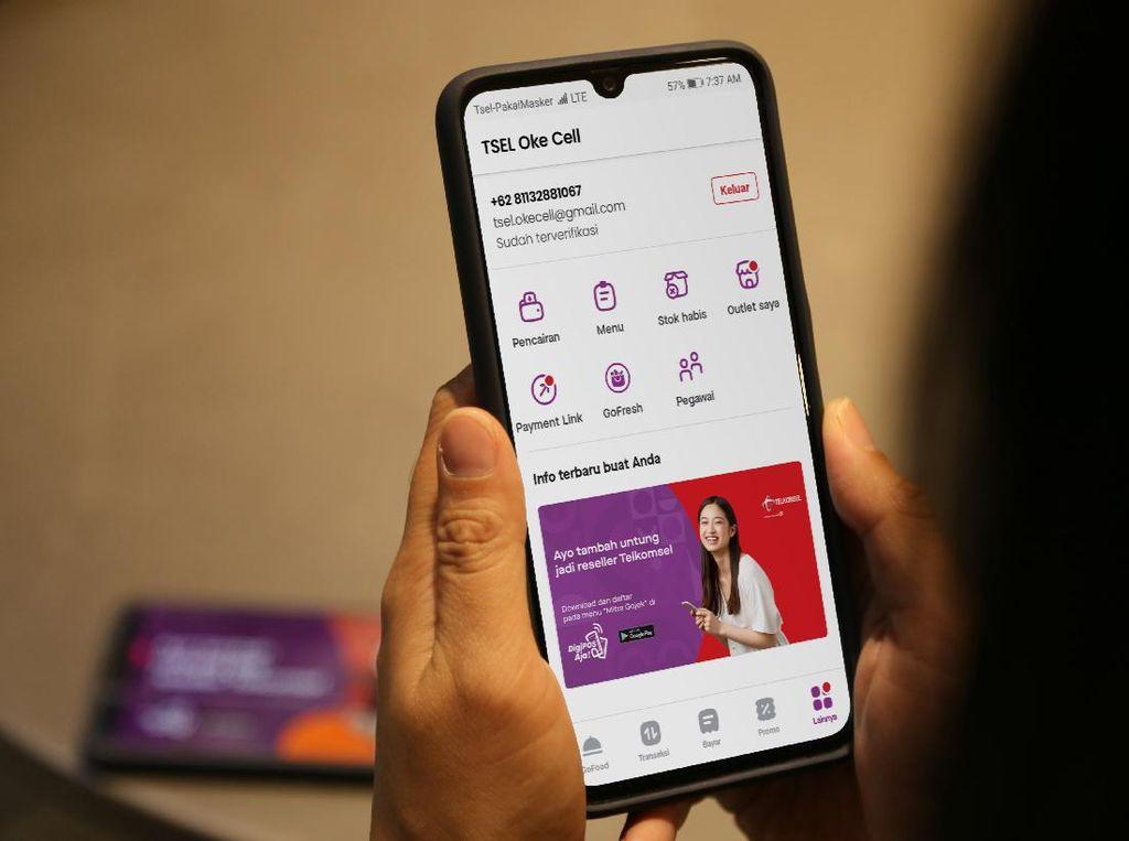 Mau Penghasilan Tambahan? Mitra Gojek Bisa Jualan Paket Internet Telkomsel