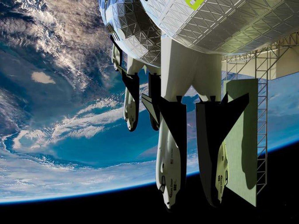 NASA Siapkan Rp 5,7 Triliun untuk Bangun Stasiun Antariksa