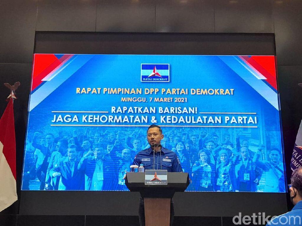 Rapat Bersama 514 DPC, AHY Buktikan KLB Sumut Ilegal