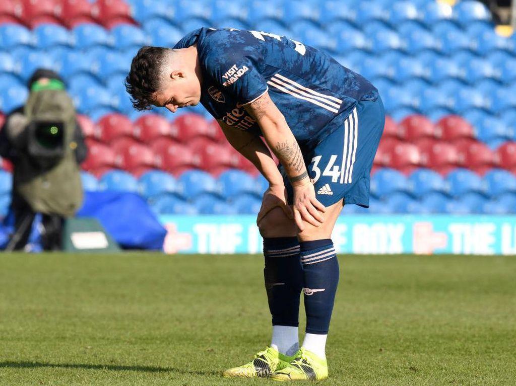 Dear Fans Arsenal, Granit Xhaka Minta Maaf Sudah Bikin Salah